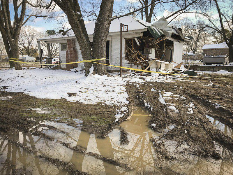 OHP cites 'porting' as explanation for damage to Allen home
