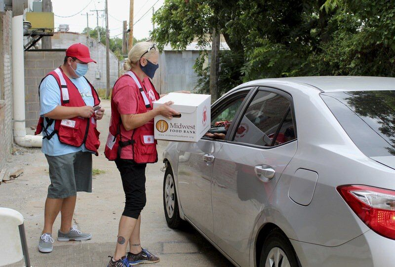 Salvation Army partners with Latter-Day Saint charities to distribute food boxes