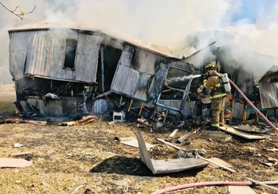 One injured in house fire