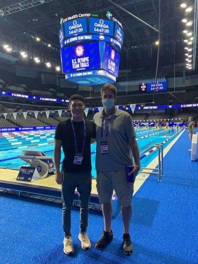 Norman man swims for Olympic contention