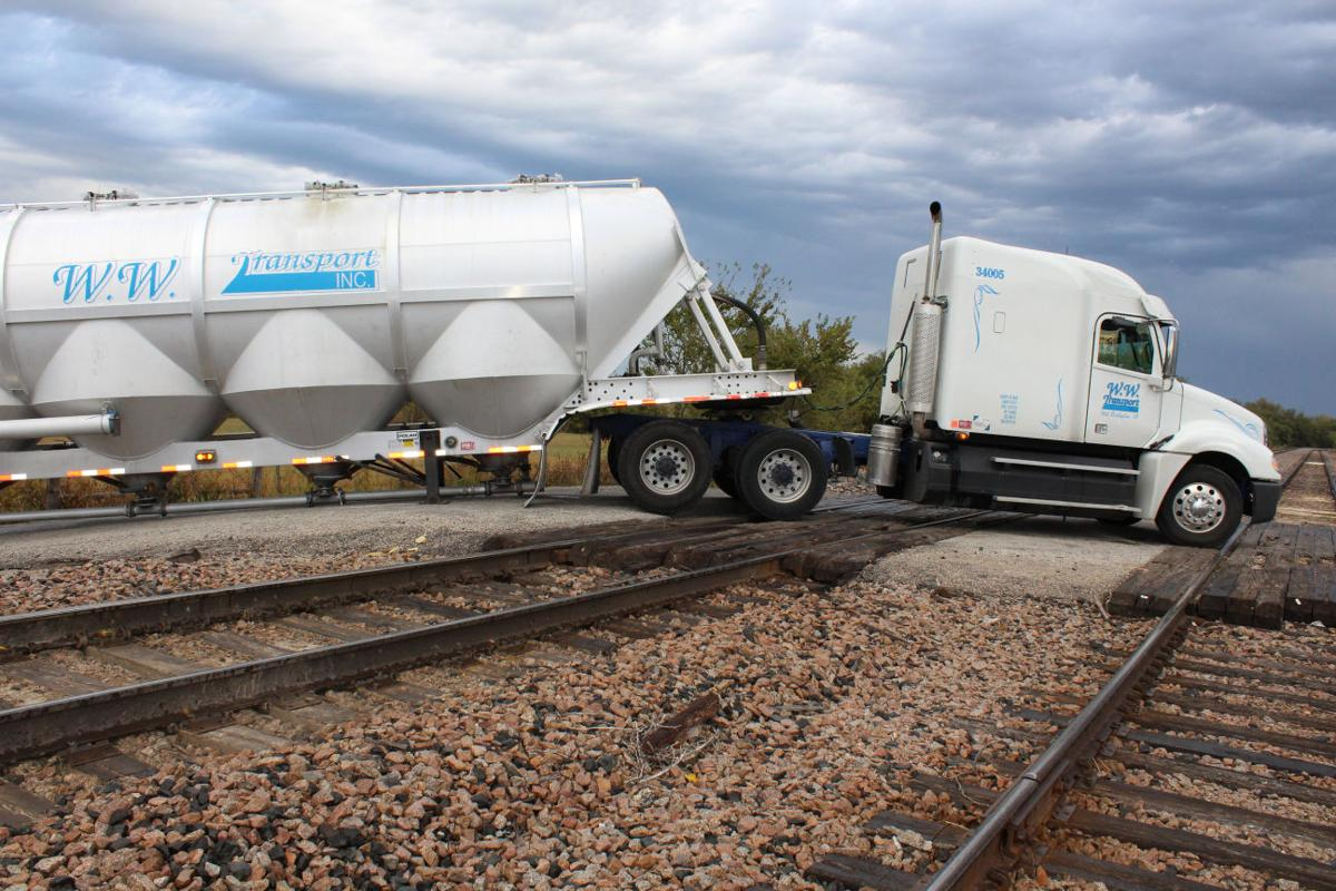 Train traffic halted when semi gets stuck on tracks | News