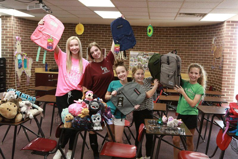 Ada teens help out Fostering HOPE