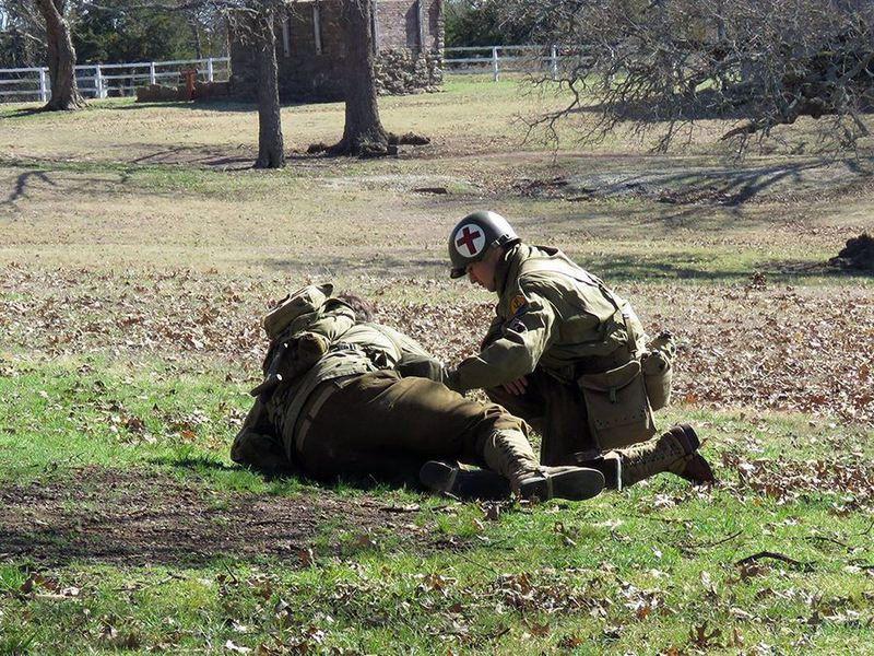 World War II re-enactment planned for Fort Washita Feb. 24