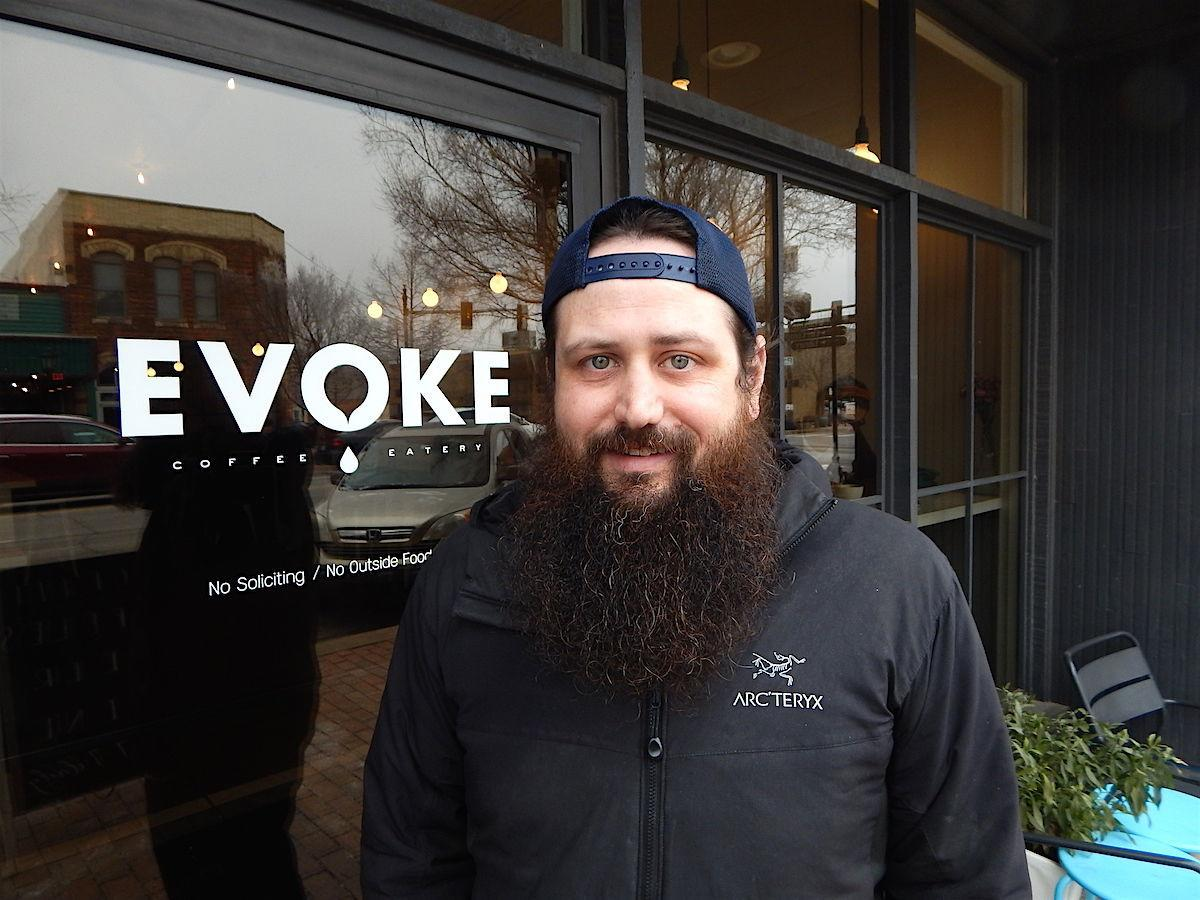 Cafe owner from Edmond who comments on dead mayor candidate
