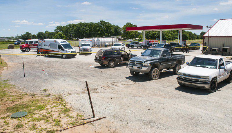 Woman shot during apprehension of Logan County escapee in Allen
