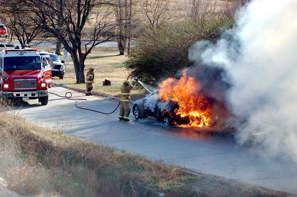 emergency crews respond to wreck, car fire | local news | theadanews