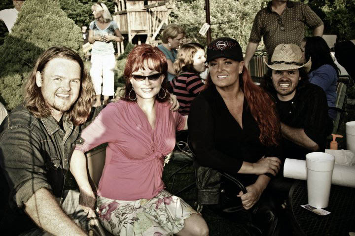 7-25 Champ Devere Joey and Rory with the judds.jpg