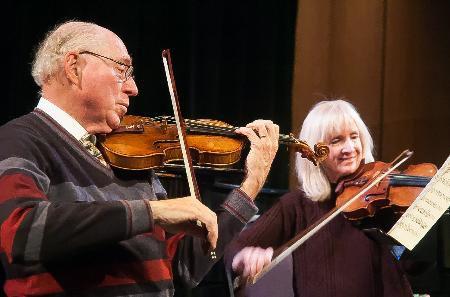 Amateur violinist showcases rare instruments at ECU