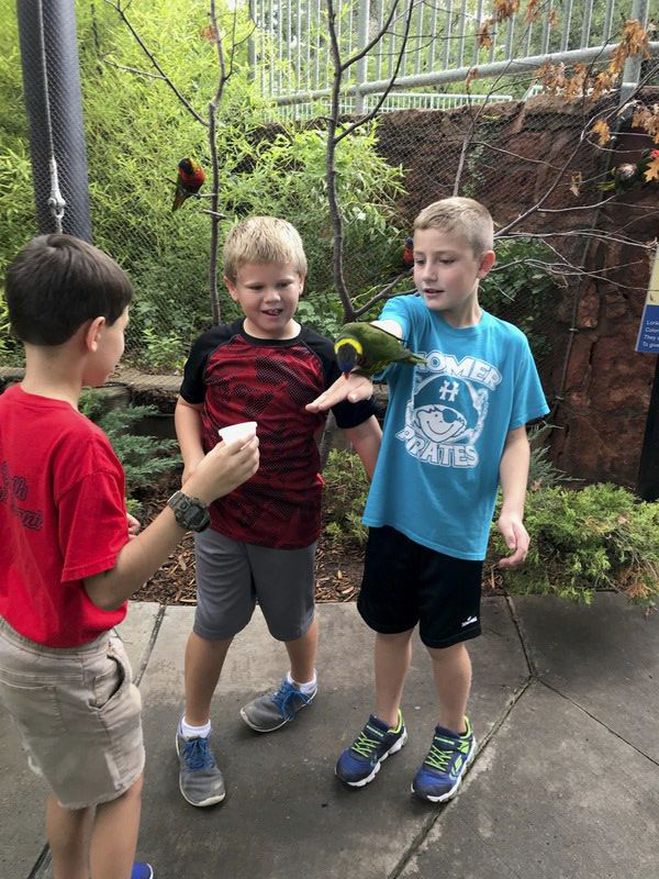 Homer Elementary students visit the OKC Zoo