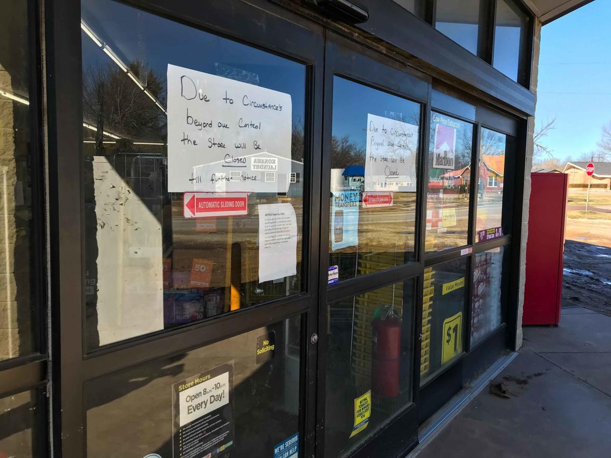 Dollar General in Konawa closed