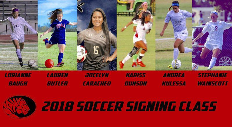 East Central soccer program adds six signees