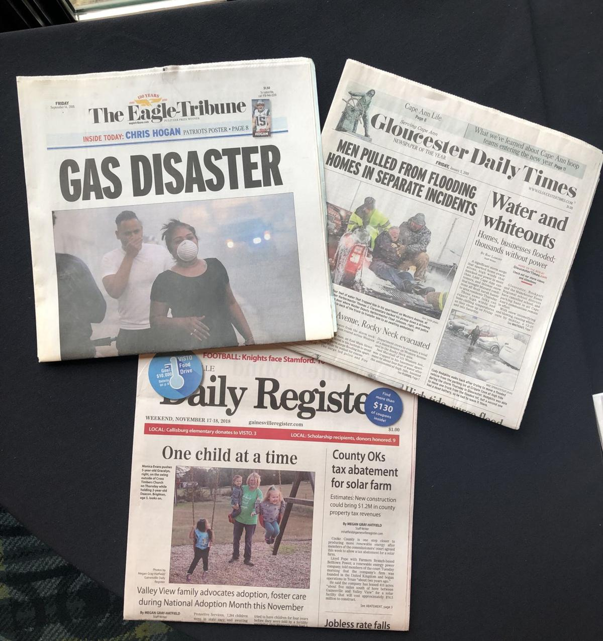 Newspapers of the Year 2018