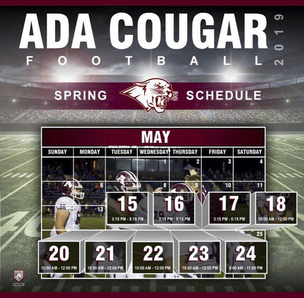 Cougar football team starts drills today