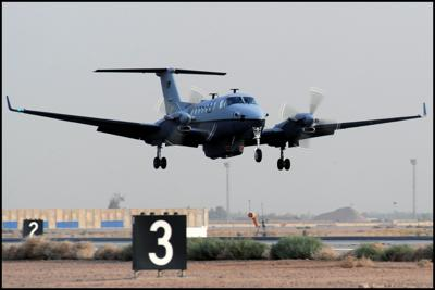 Oklahoma Air National Guard receives MC-12W recon aircraft