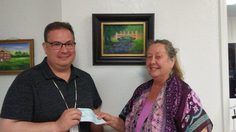 Ada artist places second in Plein Air Red Fern event