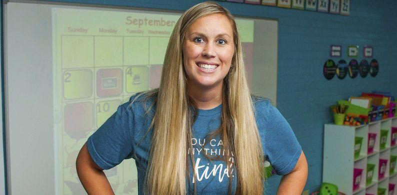 Byng teacher among five finalists for a presidential award