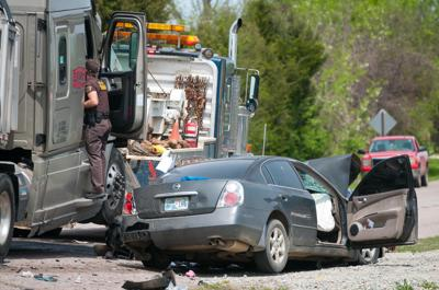 Konawa woman, child killed in SH39 collision