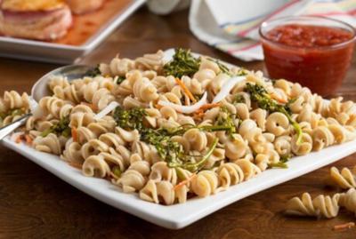 Cool summer pasta salad