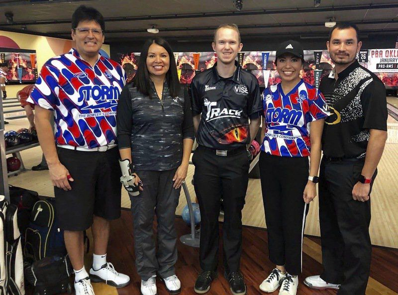 Local bowlers get chance to hang out with the pros