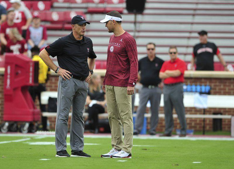 Sooners to finish long road swing against Red Raiders