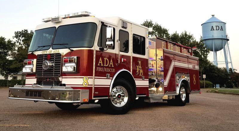 Ada Fire Department adds new truck to fleet