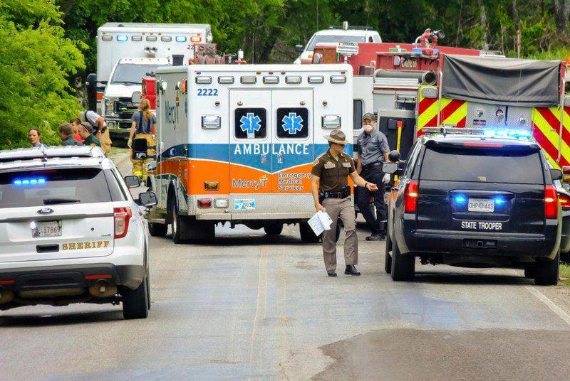 Byng crash injures one