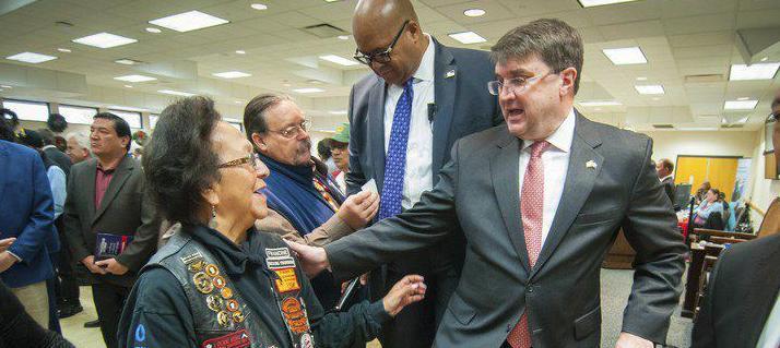 Veterans Affairs secretary visits Ada