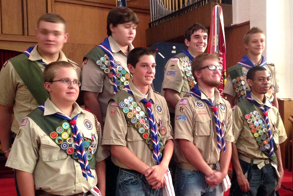 Eagle Scout Candidates-2013