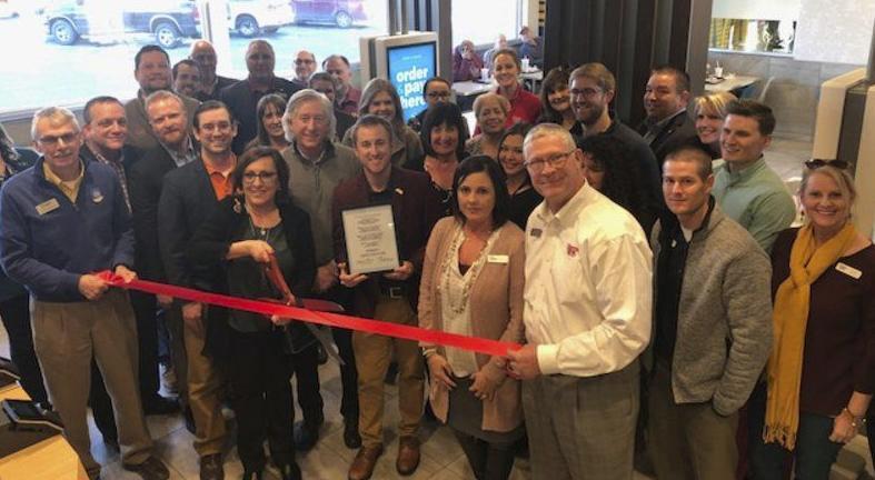 Ada Chamber congratulates McDonald's on successful renovation
