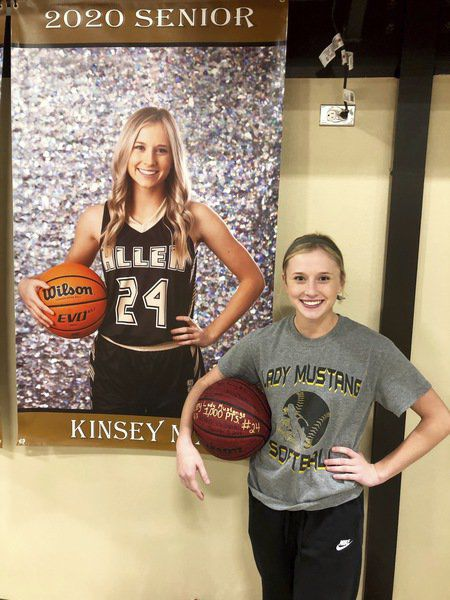 It was a memorable night for Kinsey Nix