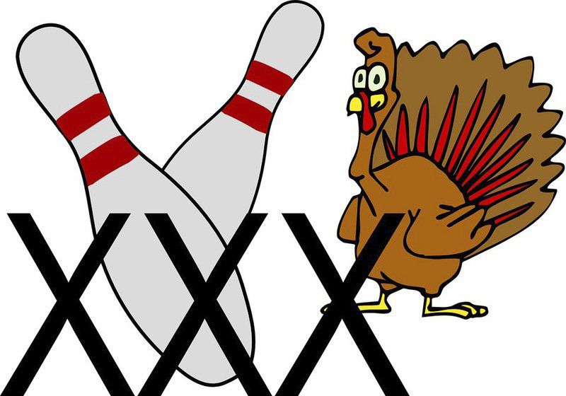 Turkeys run wild during bowling leagues