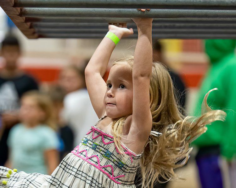 Area kids take on the Pontotoc Ninja Warrior challenge