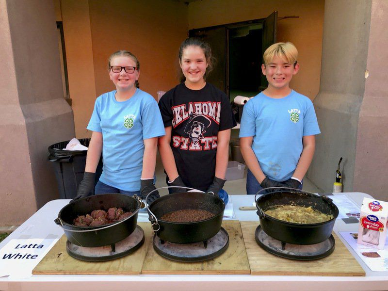 County 4-Hers fire up their Dutch ovens in annual competition