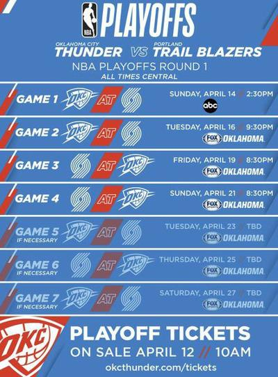 Against all odds, OKC will face Portland
