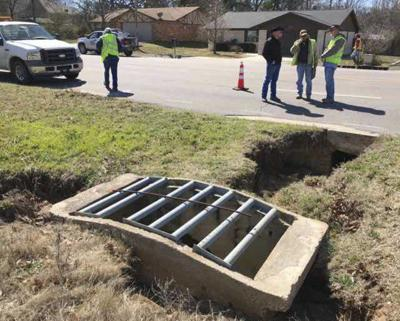 Drainage collapse prompts closure of South Monte Vista