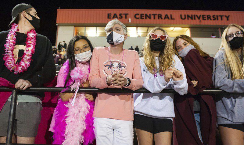 Thursday night lights: pink out edition