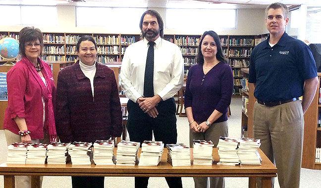 Books donated to Latta High School
