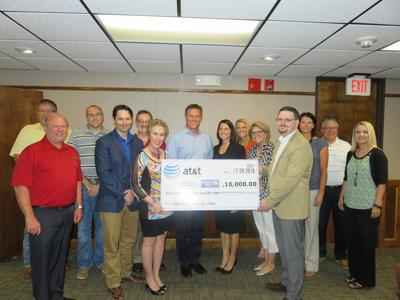 AT&T gives $10,000 to Ada Regional United Way