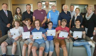Ada High students receive aviation scholarships