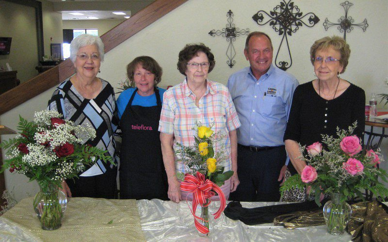 ROSE program features presentation on floral arrangements