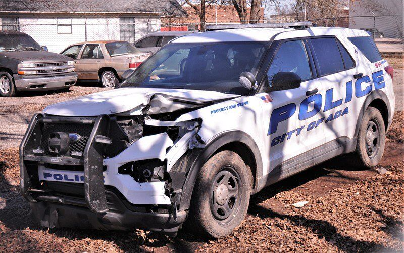 Police: Woman steals patrol car, chase ensues
