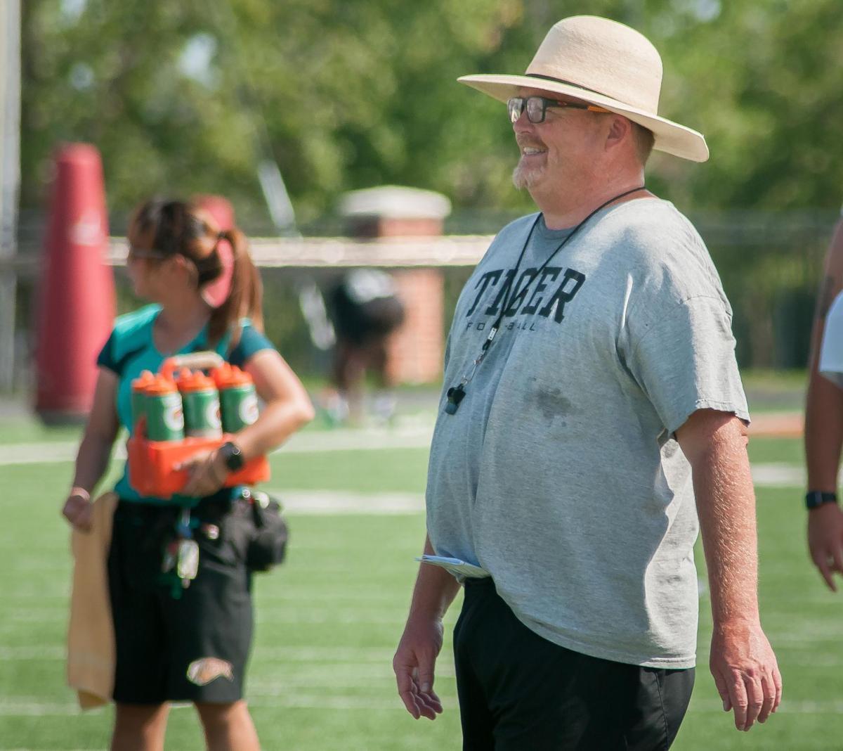 ECU head coach Tim McCarty
