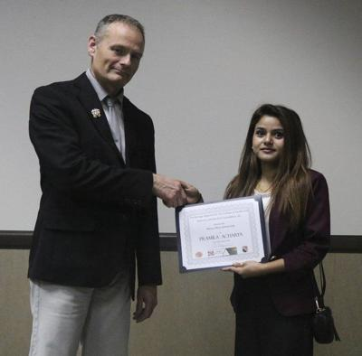 Acharya receives biology scholarship