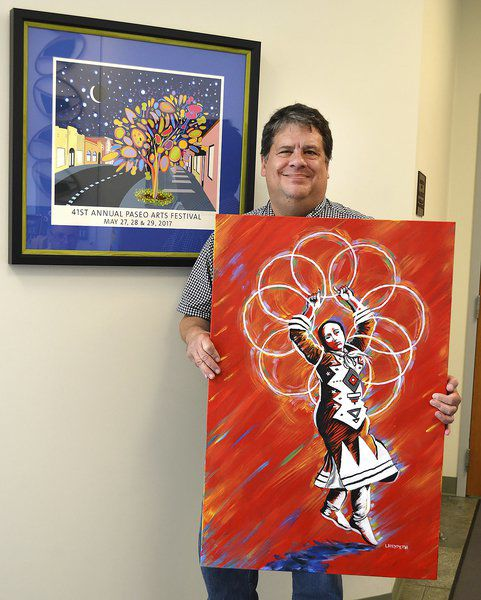 New art shows Chickasaw's love of tribe