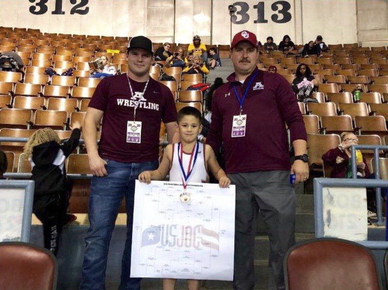 Youth wrestling gaining popularity in Ada