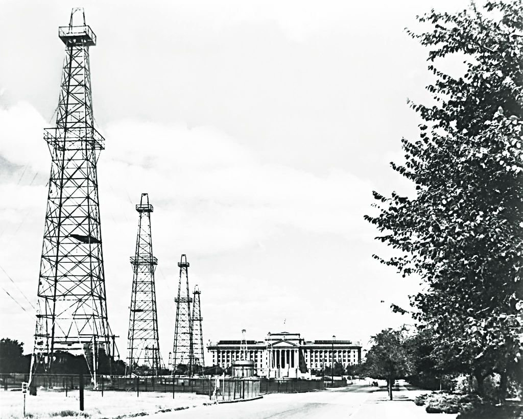 Oil industry influence on Oklahoma