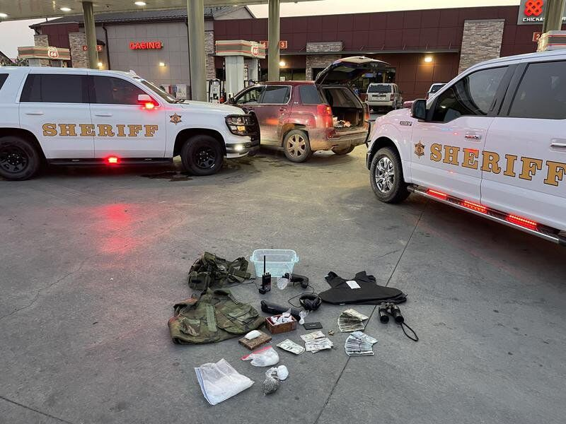Man arrested for meth trafficking