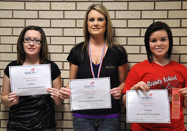PTC students competed in Cosmetology Regionals
