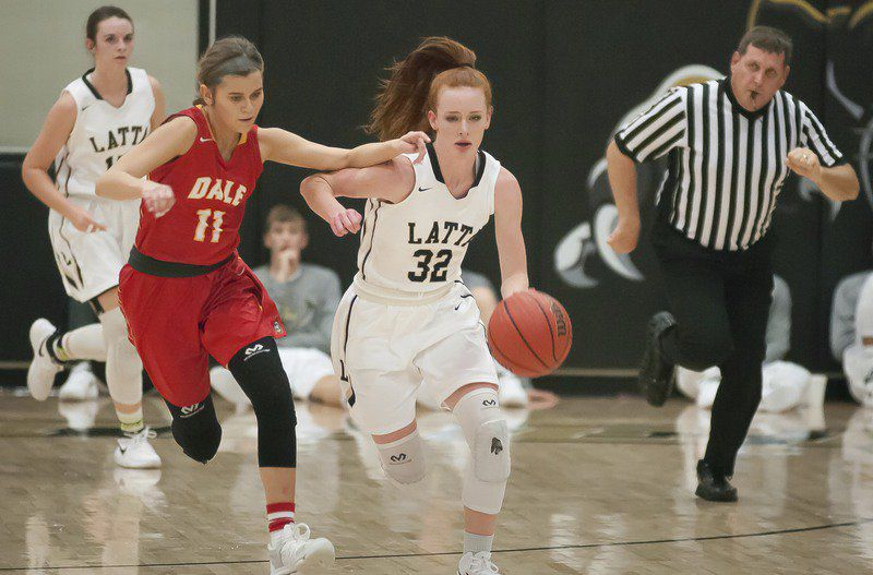 Baber at the buzzer helps Latta girls edge Stonewall