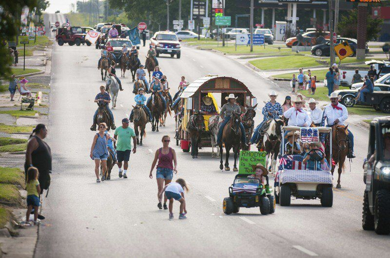 In pictures: Stratford Peach Festival Rodeo Parade